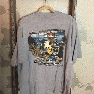 Harley Davidson Smokey Mountains t shirt XXL